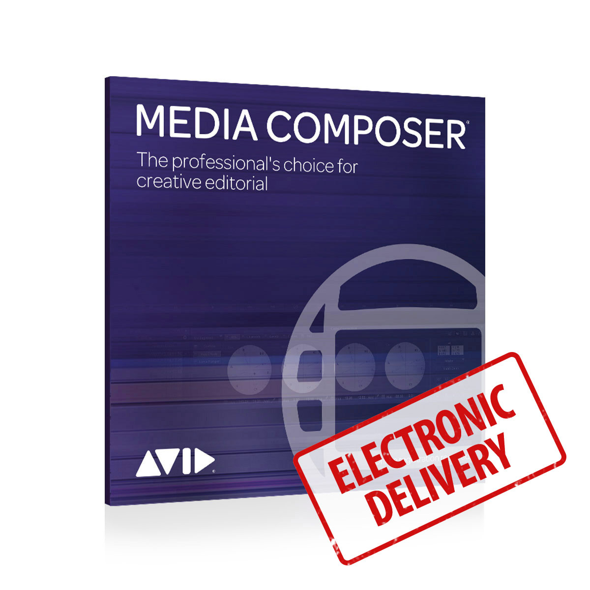 Avid Media Composer Perpetual License - License Key