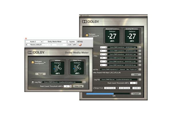 Dolby Media Meter 2 Loudness Metering Plug-In (AU/RTAS/VST)