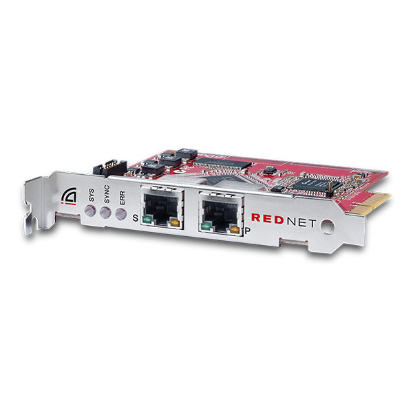 Focusrite RedNet PCIe-R Card with Redundant Ethernet Port