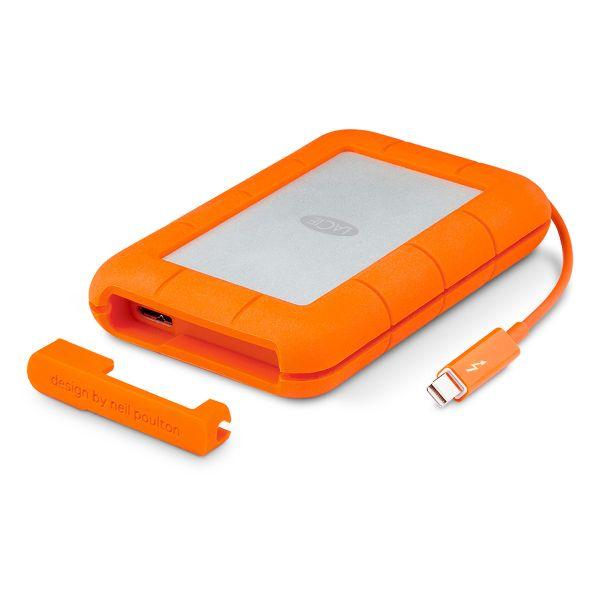 9907625cf30 LaCie 2TB Rugged Thunderbolt v2 Thunderbolt   USB 3.0 Mobile Drive