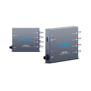 AJA HA5-4K Mini Converter 4K HDMI to 4K SDI image 1
