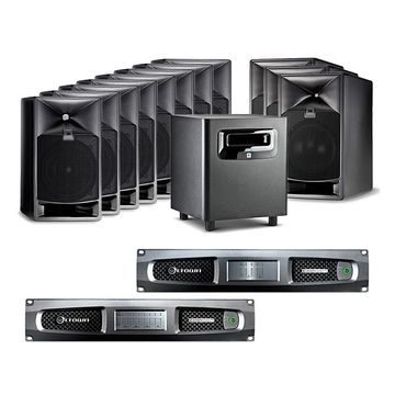JBL 7.1.4 Atmos Premix Surround Monitoring System image 1