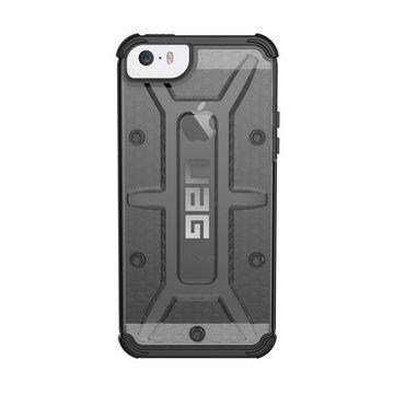 buy online 5ea03 b7183 Urban Armor Gear Plasma Rugged Case for iPhone 5S/SE - Black