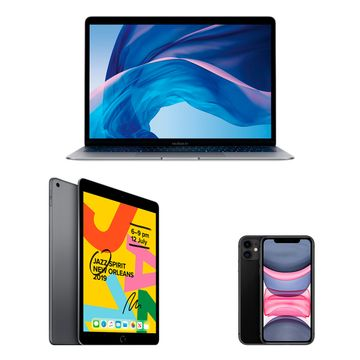 "Mobility Bundle - MacBook Air, iPhone 11, 10.2"" iPad image 1"