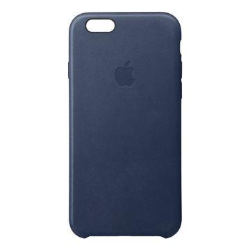 big sale a18e6 53467 Apple iPhone 6s Leather Case - Midnight Blue | Jigsaw24