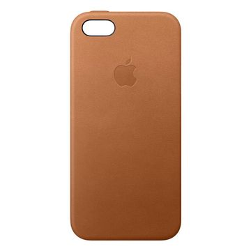 huge discount dc1dc 488f6 Apple iPhone SE Leather Case - Saddle Brown
