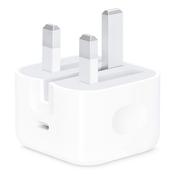 Apple 18W USB-C Power Adapter standalone no cable (Folding Pins) image 1