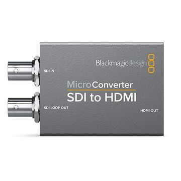Blackmagic Design Micro Converter Sdi To Hdmi 3g No Psu Jigsaw24