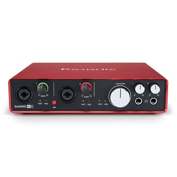 Focusrite Scarlett 6i6 (2nd Gen) USB Audio Interface - 192kHz image 1