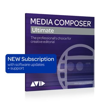 Avid Media Composer Ultimate 1-Year Subscription - Boxed image 1