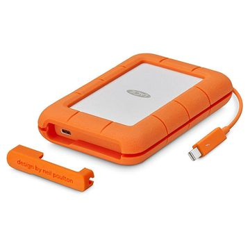 LaCie 1TB Rugged Thunderbolt & USB-C Portable SSD Drive image 1