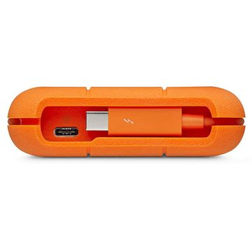 LaCie 1TB Rugged Thunderbolt & USB-C Portable SSD Drive image 3
