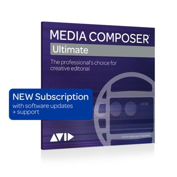 Avid Media Composer Ultimate 1-Year Subscription image 1