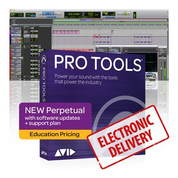 Avid Pro Tools Perpetual License - Student/Teacher