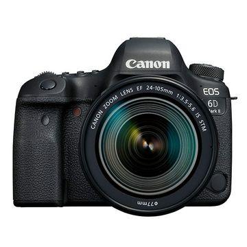 Canon EOS 6D Mark II Digital SLR + 24-105mm STM Lens image 1
