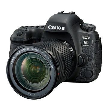 Canon EOS 6D Mark II Digital SLR + 24-105mm STM Lens image 2