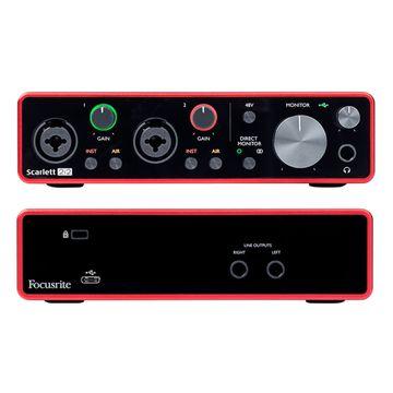 Focusrite 2i2 Gen3 USB Audio Interface image 2
