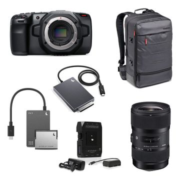 Blackmagic Design Pocket Cinema Camera 6k Ready To Go Bundle Jigsaw24