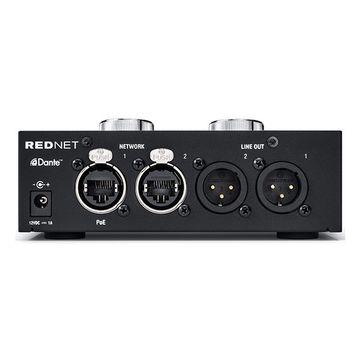 Focusrite RedNet AM2 Stereo Dante Headphone and Line Monitor image 2