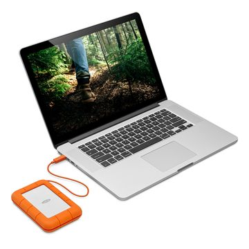 LaCie 2TB Rugged USB-C Mobile Hard Drive (USB 3.1, Type-C) image 5