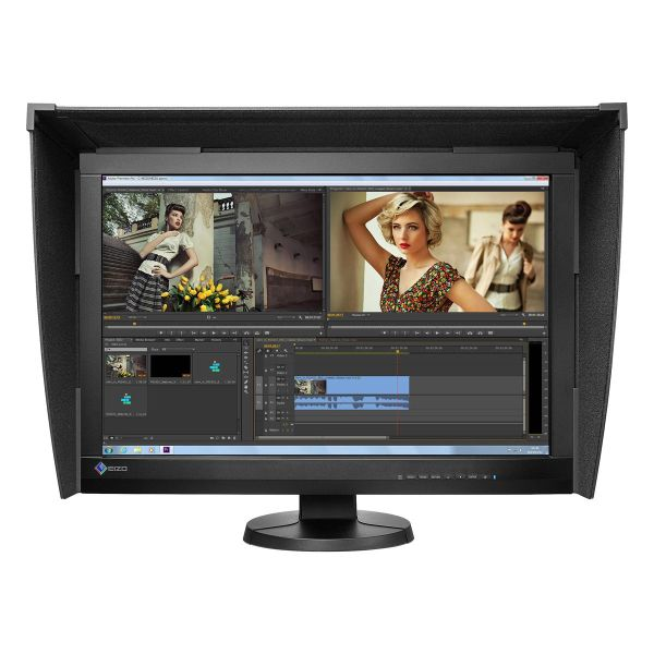 "EIZO 24"" ColorEdge CG247x Self-Calibrating Display with Hood"