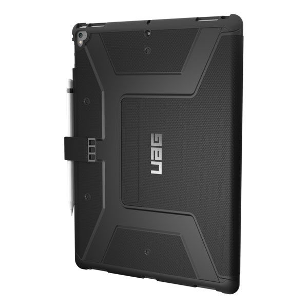 "Urban Armor Gear Metropolis Rugged Case for iPad Pro 12.9"" - Black"