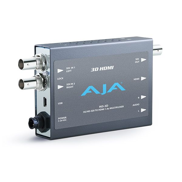 Aja Hi5 3D HD-SDI to HDMI 1.4a Video and Audio Converter