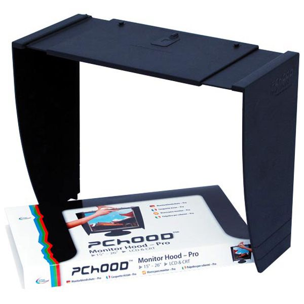 "PCHOOD Monitor Hood Pro For 15"" - 26"" Displays"