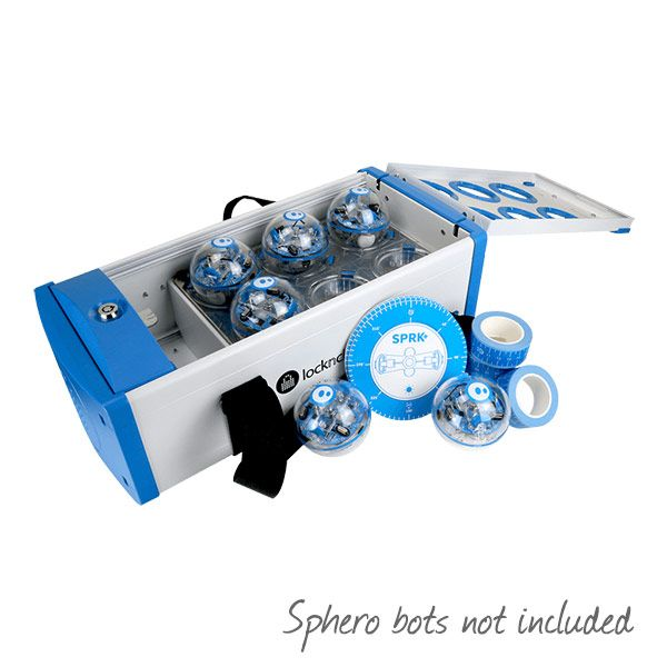 Lock'n'charge Sphero Charging Case for 6x Sphero SPRK+ Bots