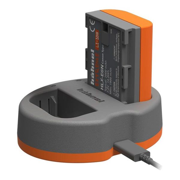 Hahnel LP-E6 Style Battery and Charger Kit