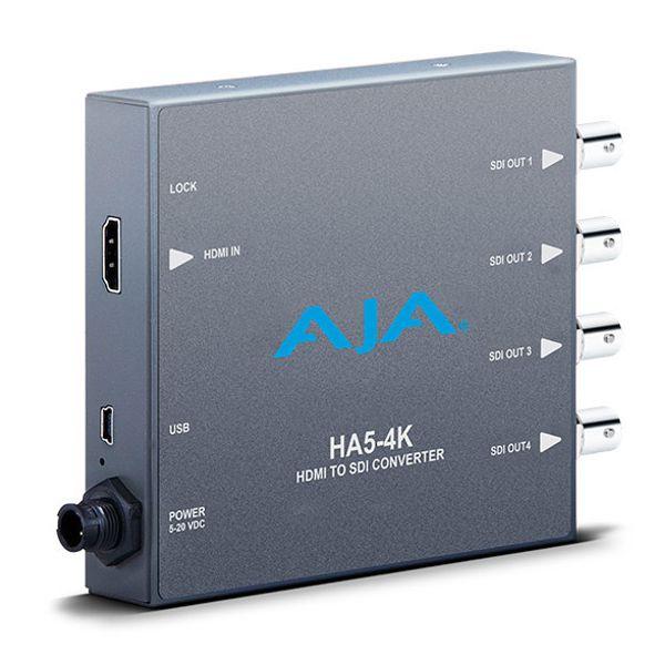 AJA HA5-4K Mini Converter 4K HDMI to 4K SDI