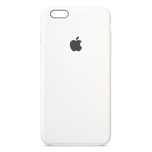 Apple iPhone 6s Plus Silicone Case - White