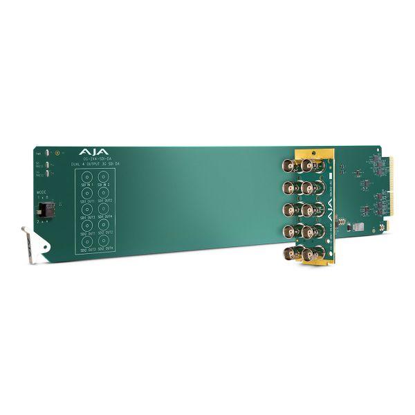 AJA openGear 2 x 4 3G-SDI Re-Clocking Distribution Amplifier