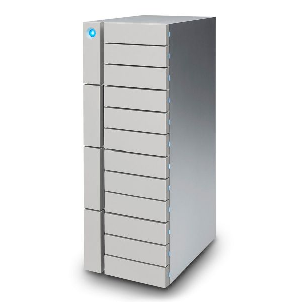 LaCie 12big 48TB Thunderbolt3 with USB-C 3.1 Desktop RAID Storage