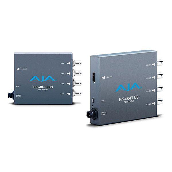 AJA Hi5-4K-Plus pristine 3G-SDI to HDMI 2.0 Conversion