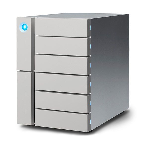 LaCie 6big 24TB 6x 4TB Thunderbolt3 & USB-C Desktop RAID Storage