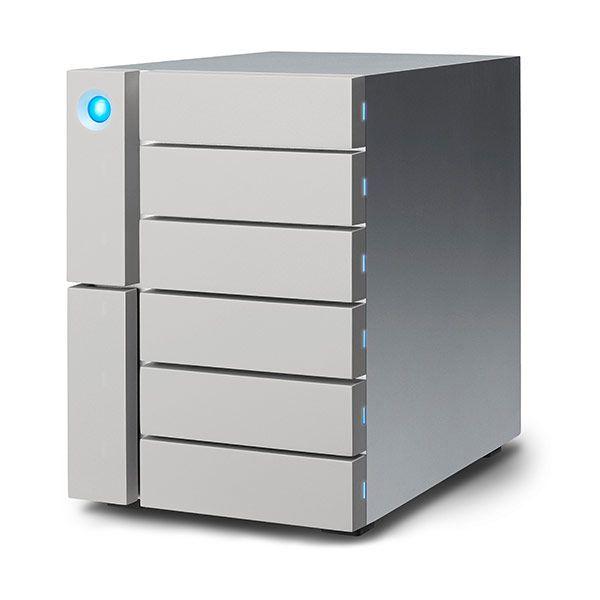 LaCie 6big 48TB 6x 8TB Thunderbolt3 & USB-C Desktop RAID Storage