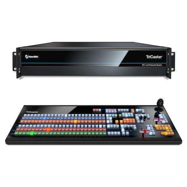 NewTek Tricaster TC1 4K 3RU Live Production System Plus Bundle with CS