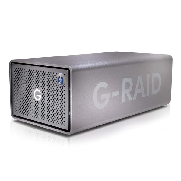 SanDisk Pro 8TB G-RAID Thunderbolt3 With USB-C Desktop Hard Drive
