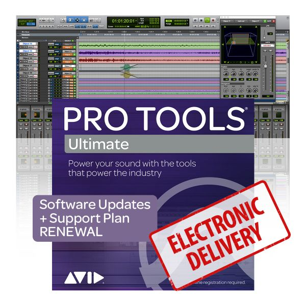 Avid Pro Tools | Ultimate Perpetual Upgrade & Support Plan Renewal