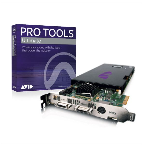Avid Pro Tools HDX Core with Pro Tools | Ultimate Perpetual License