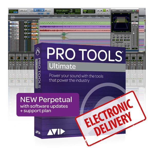 Avid Pro Tools | Ultimate Perpetual License