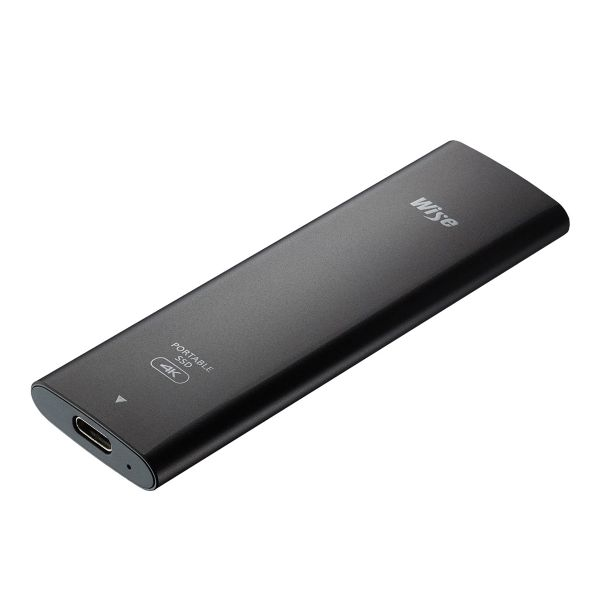 Wise 512GB Portable SSD with USB 3.1 Type-C