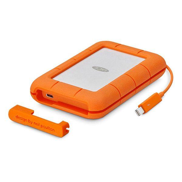 LaCie 2TB Rugged Thunderbolt USB-C Rugged Portable Drive