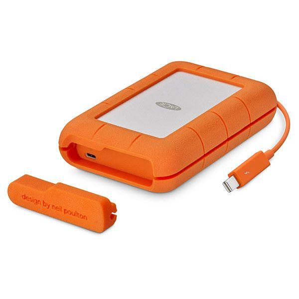 LaCie 4TB Rugged Thunderbolt USB-C Rugged Portable Drive