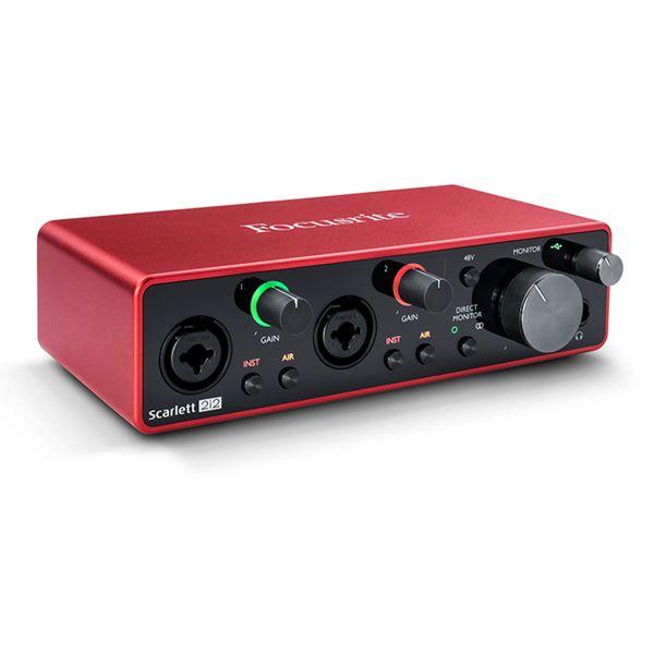 Focusrite 2i2 Gen3 USB Audio Interface