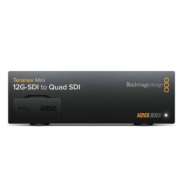 Blackmagic Teranex 12G-SDI to Quad SDI