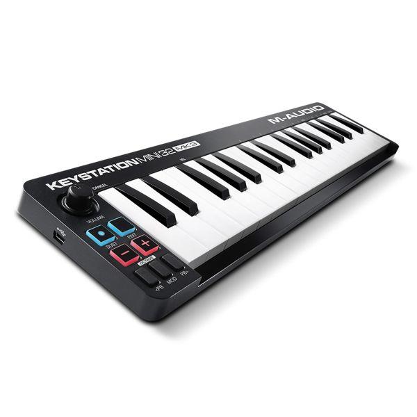 M-Audio Keystation Mini MkIII Portable USB MIDI Keyboard