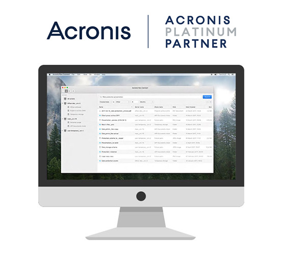 Acronis Platinum Partner