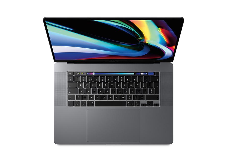 MacBook Pro birds-eye product image